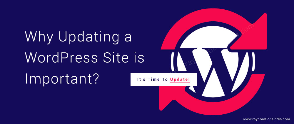 updating a wordpress site