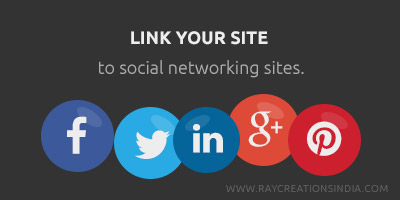 link site to social networking sites