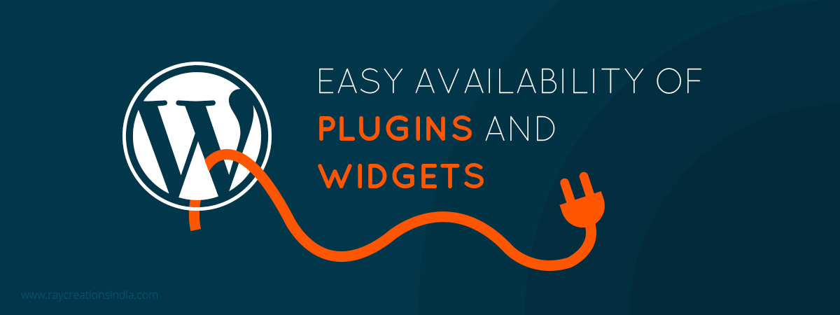 Easy Availability Of Plugins And Widgets