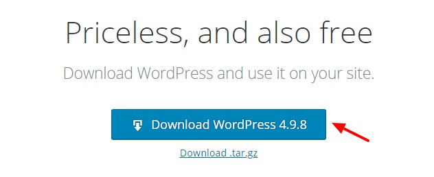 download wordpress from wordpress.org