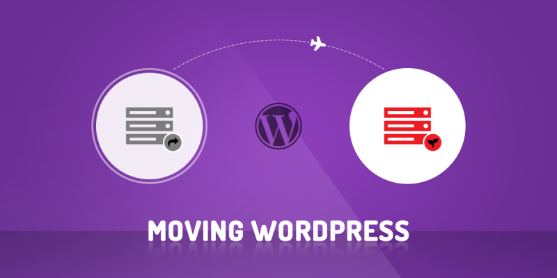 Move WordPress site to a new server