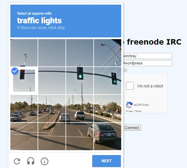 annoying session of recaptchas